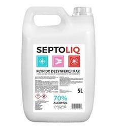SEPTOLIQ Płyn do dezynfekcji rąk 5l