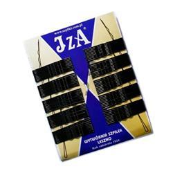 Wsuwki IZA czarne/złote 4cm 100szt