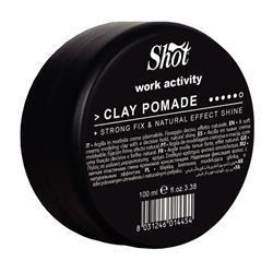 SHOT Clay Pomade Glinka miękka 100ml